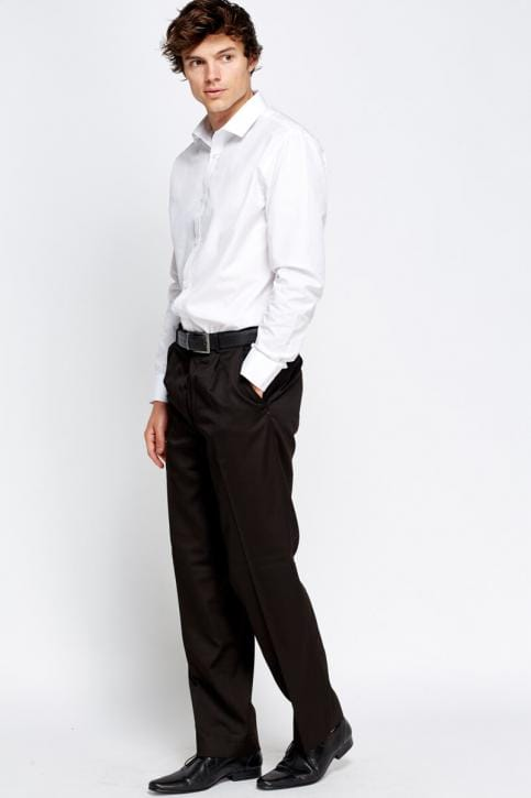 Straight Tailored Trousers